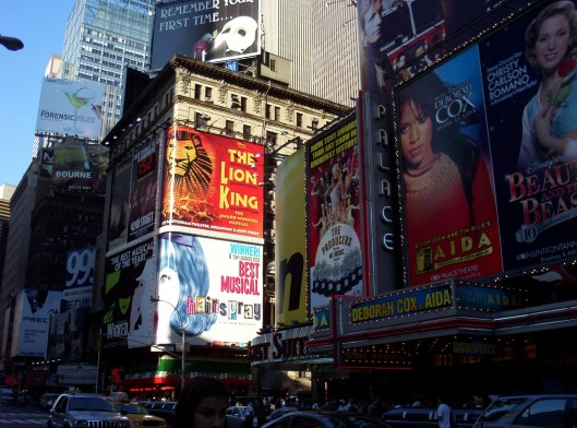 Times Square Musicals