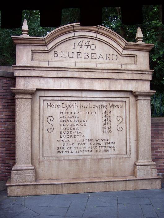Bluebeard's Tombstone